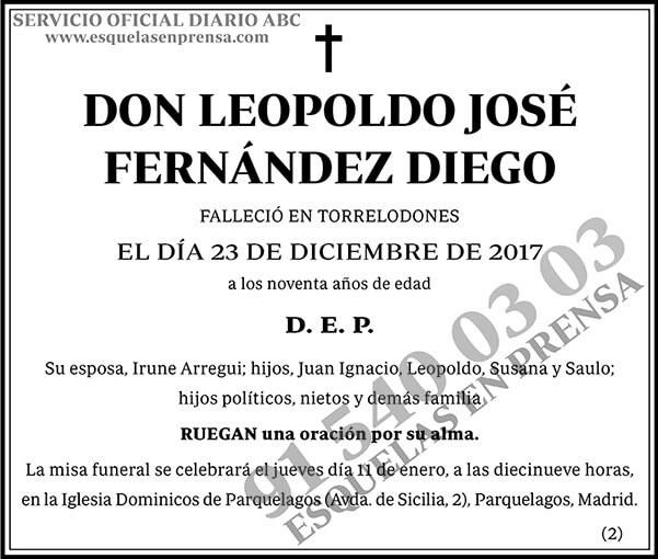 Leopoldo José Fernández Diego